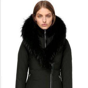 Mackage Priya Winter Down Coat with Black Fur